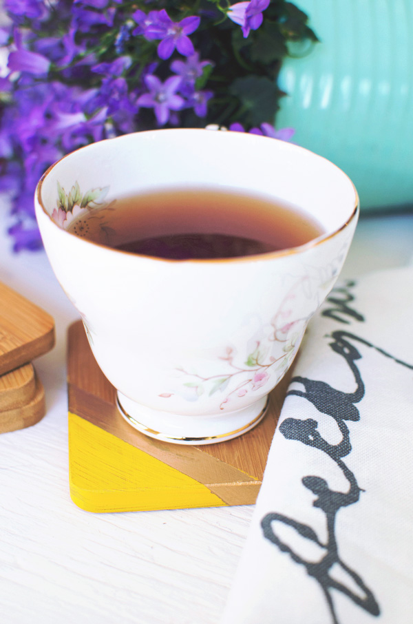 Painted Wooden Coasters DIY for your Home