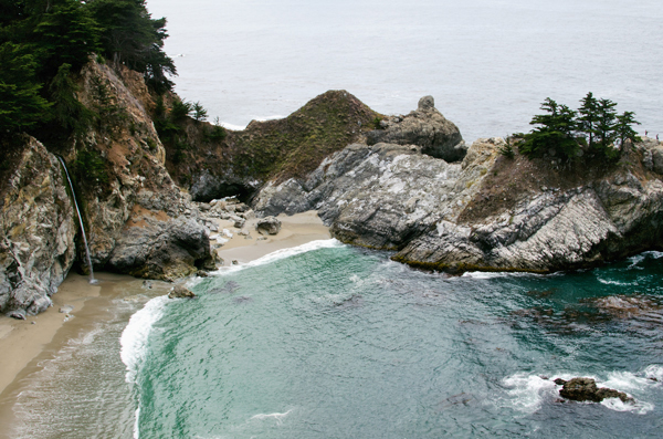 A Weekend in Big Sur - Julia Pfeiffer Burns State Park