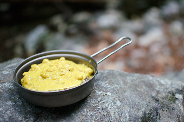 Meals for camping - Easy camping curry