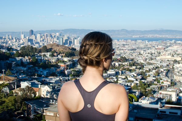 Running in San Francisco + Staying Motivated with a Workout