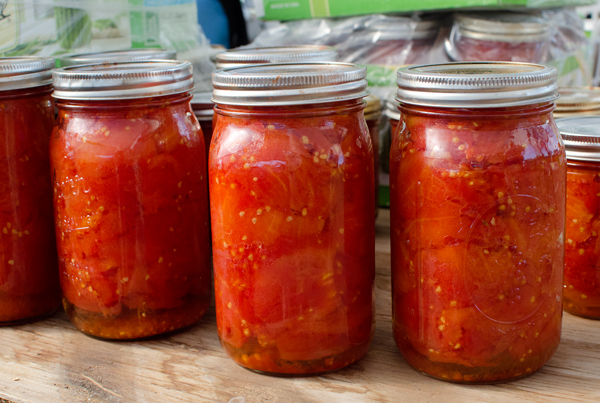 Eatwell Farm Tomato Sauce Canning Party