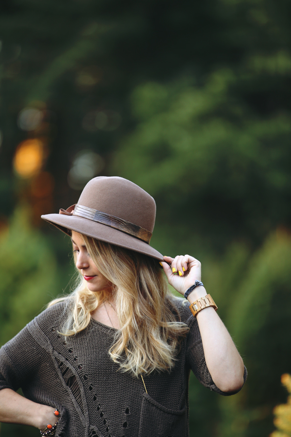 Travel Style // Styling a hat and jeans
