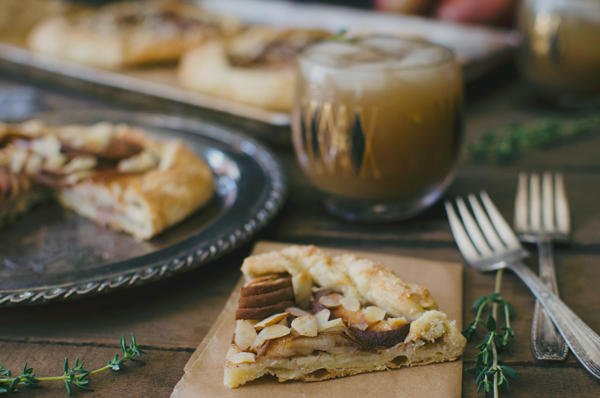 Perfect Holiday Recipes :: Pear Galette from A Side of Sweet