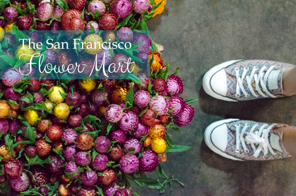 Visiting the San Francisco Flower Mart