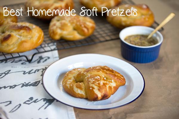 Best of 2014 // Perfect homemade soft pretzels
