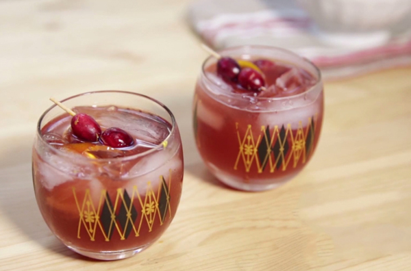 Cranberry Old Fashioned Recipe