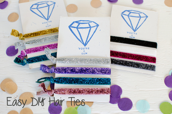 Best of 2014 // Easy DIY Elastic Hair Ties