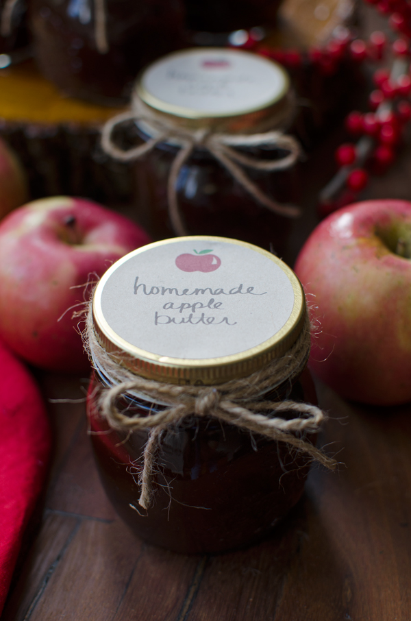 Slowcooker Apple Butter Recipe - Great holiday gift!