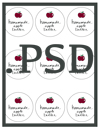 PSD File Free Printable Labels