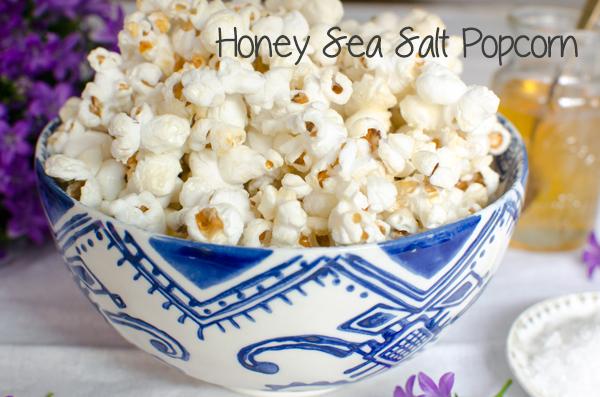 Best of 2014 // Honey Sea Salt Popcorn Recipe