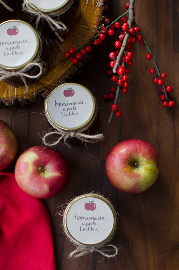 Easy Hostess Gift Ideas - Homemade Apple Butter