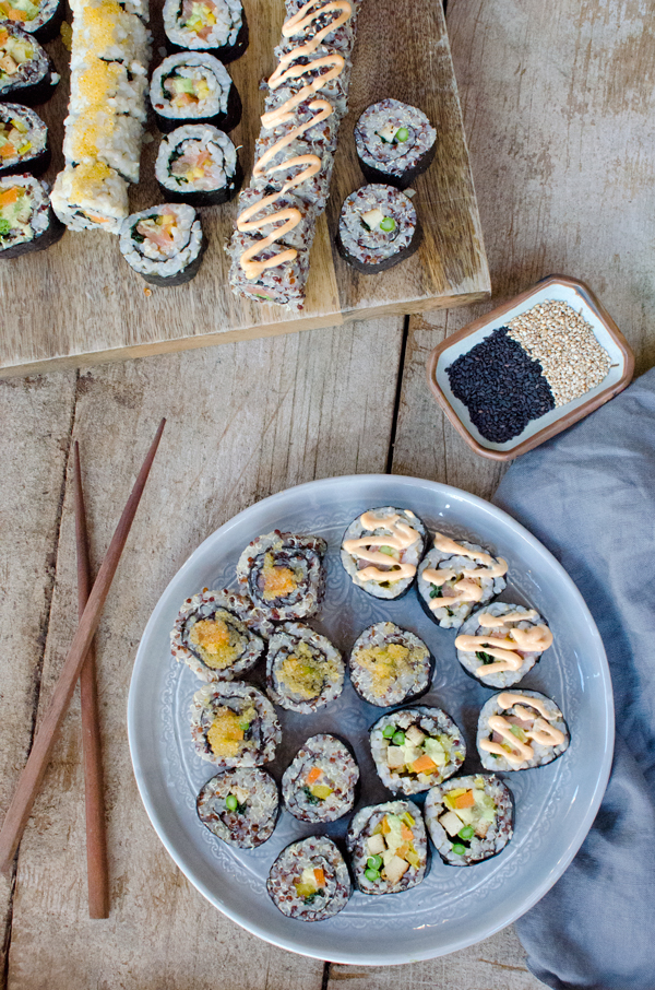 Homemade Sushi Date Night :: Healthy Homemade Ideas