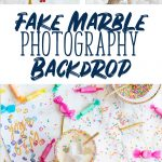 How to Make a DIY Fake Marble Backdrop for Photography