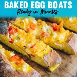 Baked Egg Boats Recipe - Easy Breakfast Recipe to Feed a Crowd