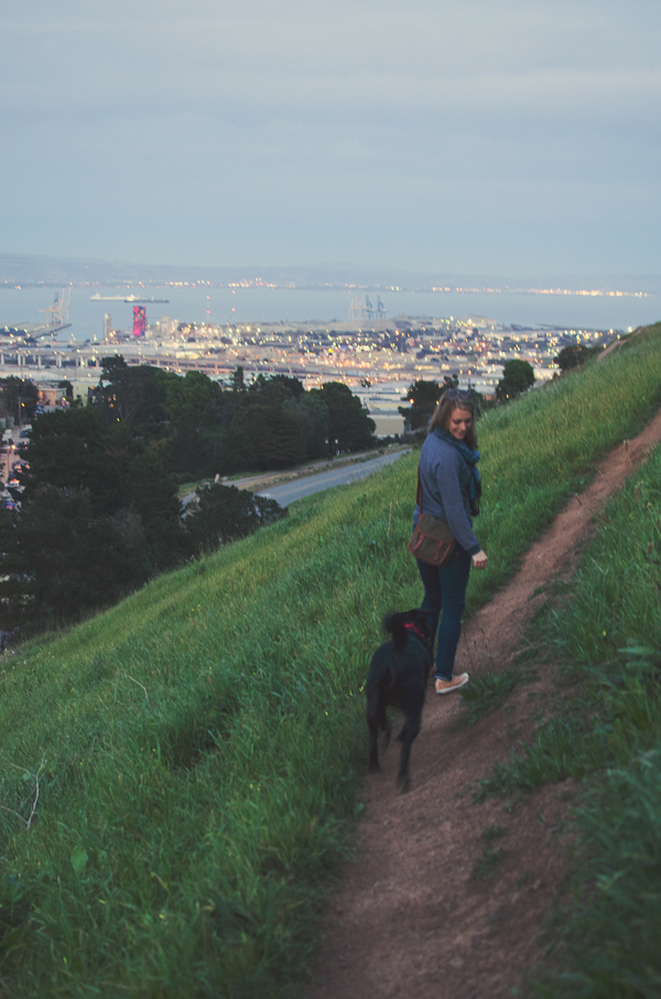 Ideas for Urban Hiking San Francisco // Bernal Heights Hill Park