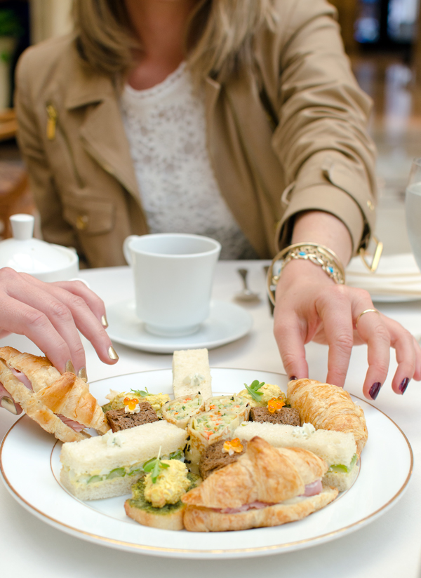 Ideas for Girls Brunch - High Tea at the Palace Hotel