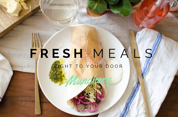 Munchery - Fresh meals delivered right to your door - such a luxury!