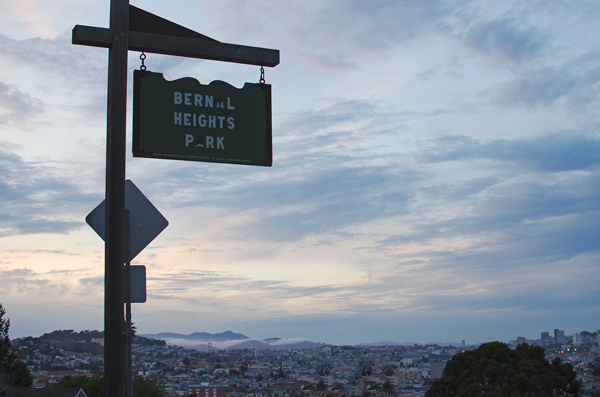 San Francisco Secret Spots // Bernal Heights Hill