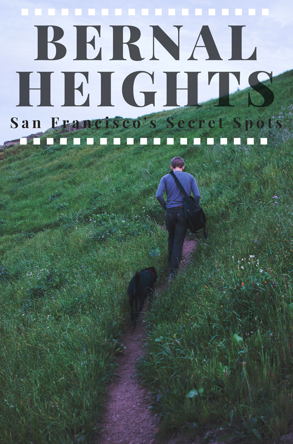 Urban Hiking Ideas in San Francisco // Bernal Heights