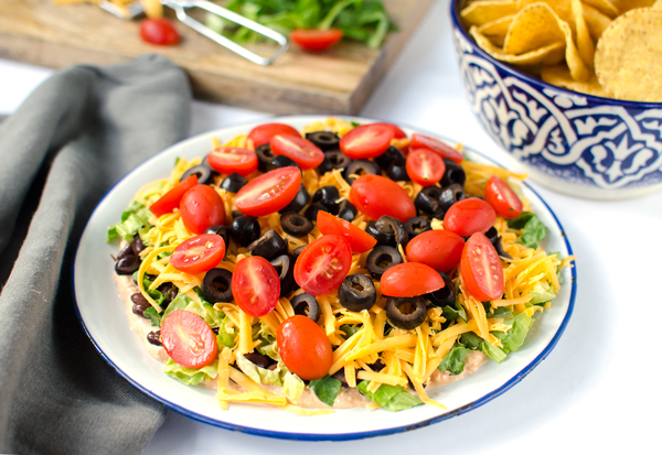 Cinco De Mayo Inspiration :: Amazing and Easy Taco Dip!