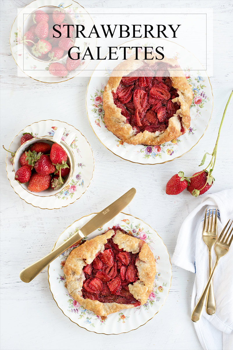 Easy Rustic Pie Strawberry Galette Recipe for Using Summer Fruit