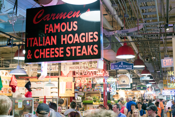 Philadelphia Tourist Attractions // Reading Terminal Market and Pennsylvania Dutch Bakery