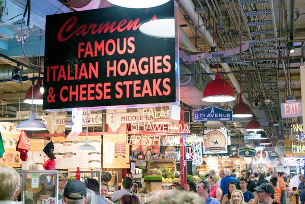Philadelphia Tourist Attractions // Reading Terminal Market and Pennsylvania Dutch Bakery