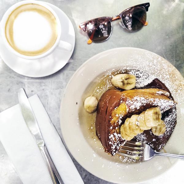 Best Philadelphia Brunch - Sabrina's Cafe Challah French Toast