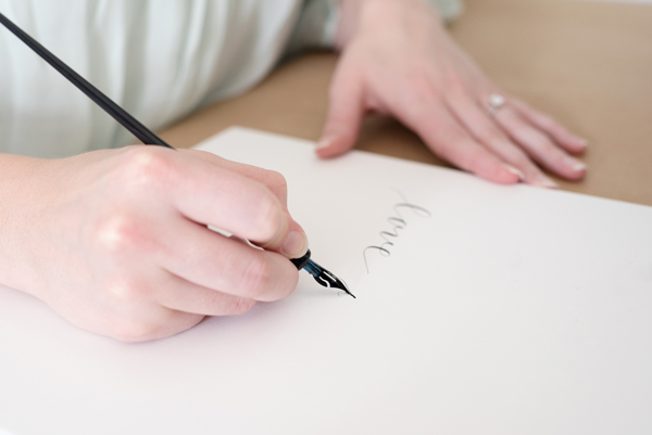 Lovely Letters Calligraphy - Custom Wedding Menus and Invitations