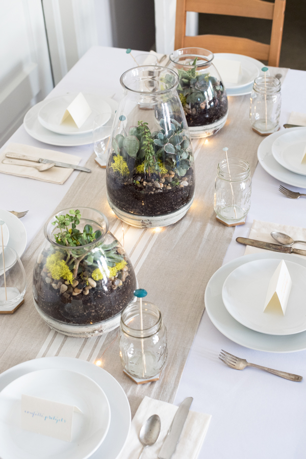 Drought Resistant Succulent Centerpieces A Side Of Sweet