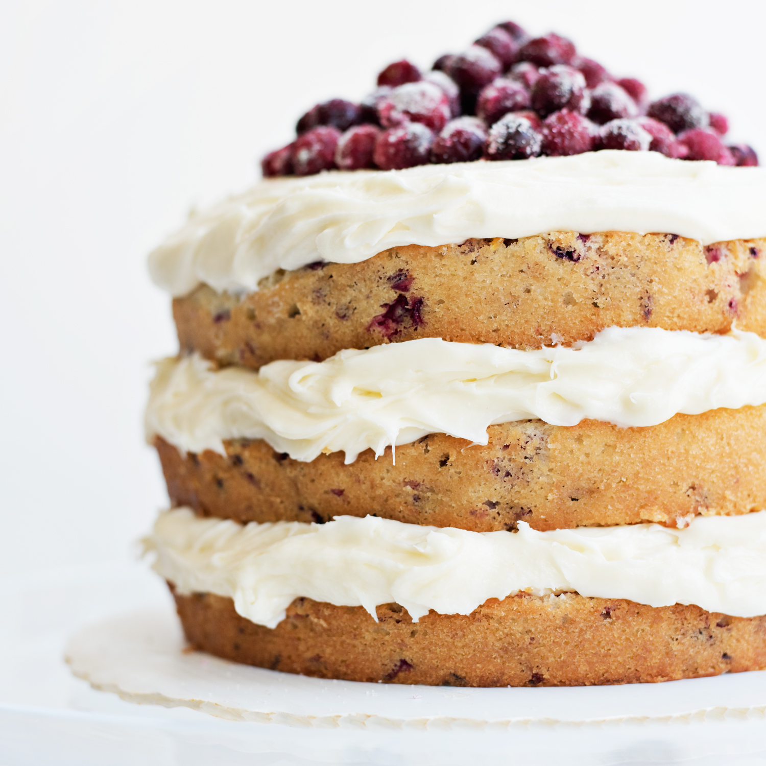 Cranberry Orange Holiday Cake Recipe - absolutely gorgeous!