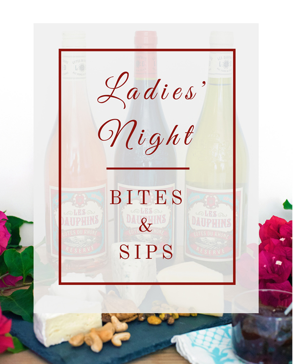 Ladies Night Appetizer and Snack Ideas with Recipe Suggestions