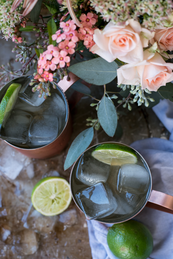 Creative Cocktail Ideas - Tuaca Mule (a variation of the Moscow Mule)