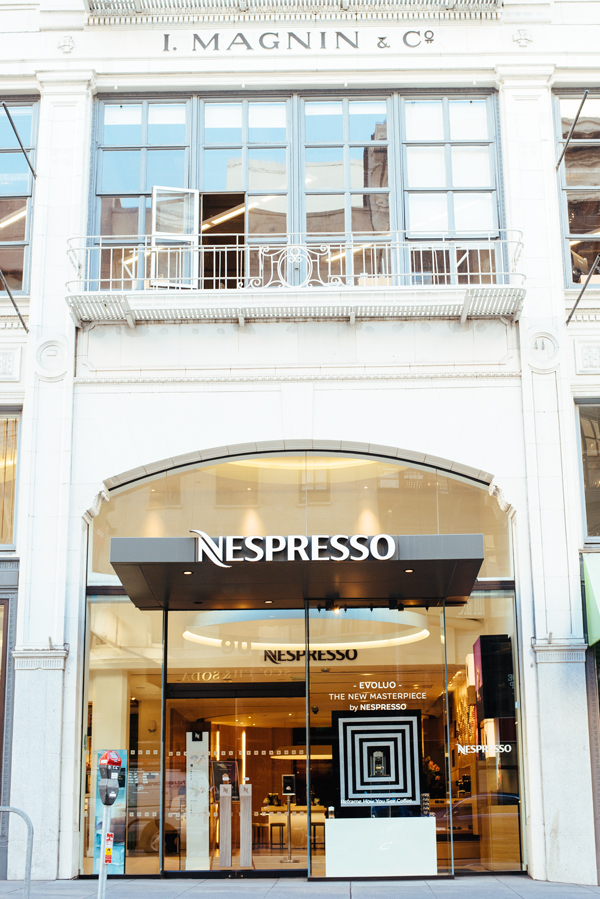 Nespresso Store Downtown San Francisco