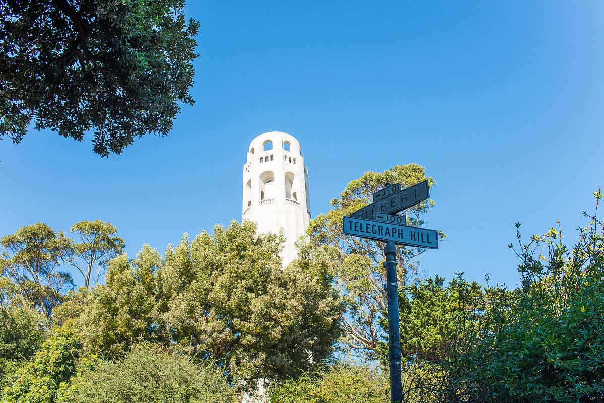 San Francisco Best Spots - Coit Tower North Beach