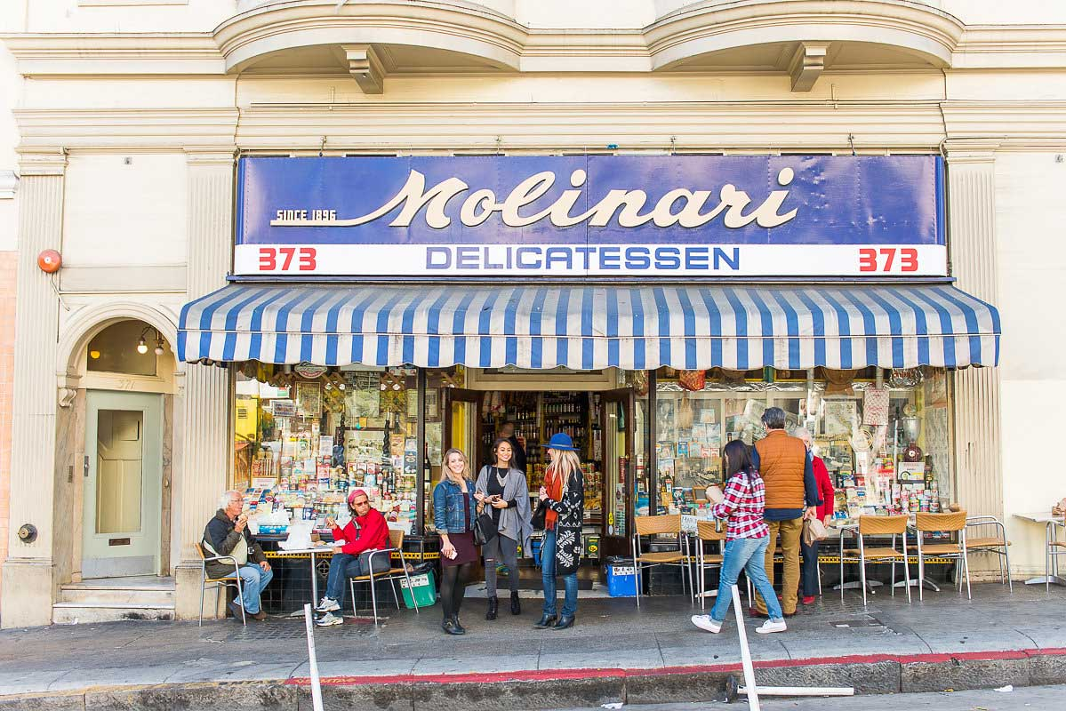 Lunch Ideas North Beach San Francisco - Molinari Deli