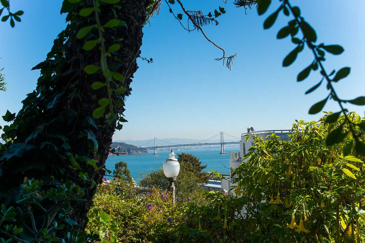 Best Views in San Francisco - North Beach Filbert Steps