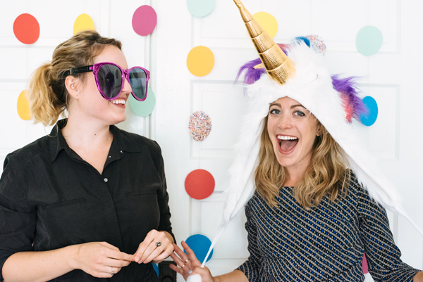 Polka Dot Photobooth Backdrop - Easy DIY