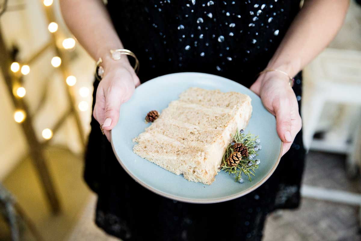 GORGEOUS Winter Themed Holiday Party. Great Wedding Inspiration with neutrals and a rustic vibe