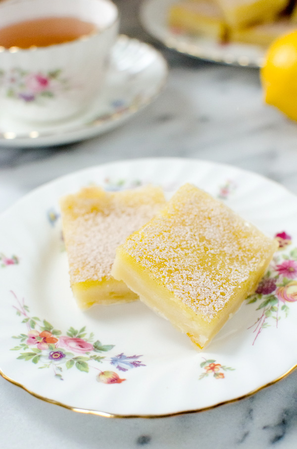 Perfectly tart and sweet lemon bars are perfect for winter citrus!