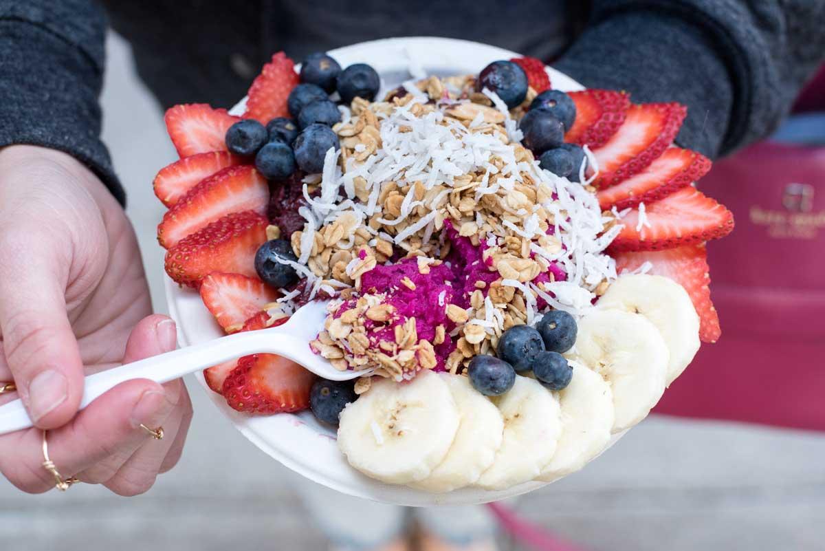 Best San Francisco Restaurants Sidewalk Juice Smoothies Acai Bowls