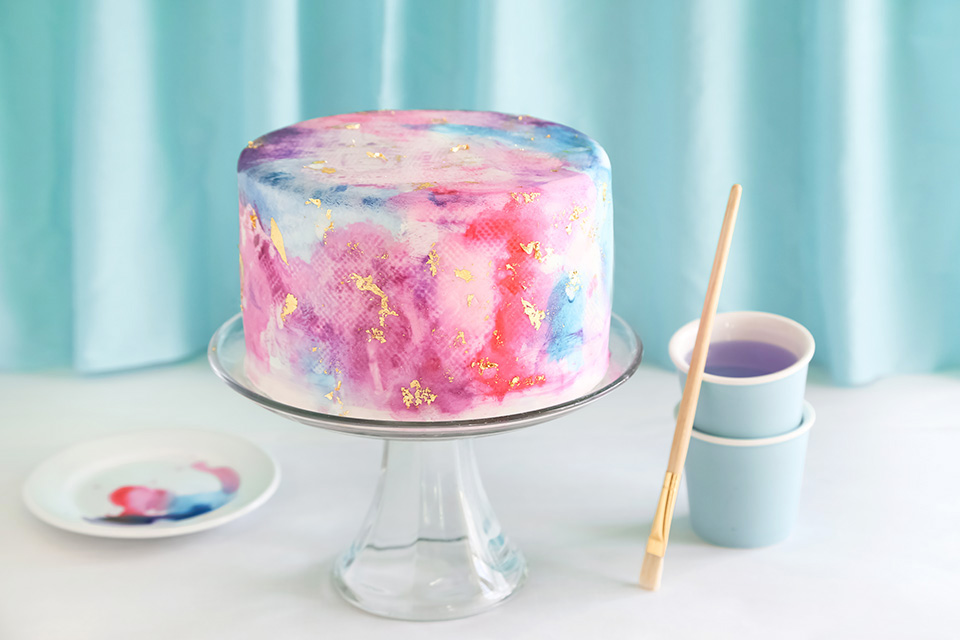 How To Make Edible Paint For Cakes With Food Coloring