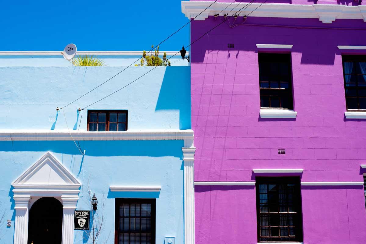 Bo-Kaap Neighborhood Cape Town