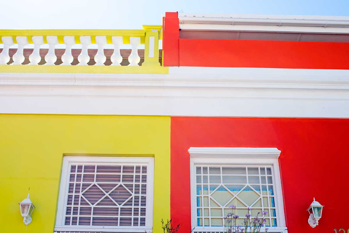 Colorful Houses in Cape Town, South Africa - Bo Kaap Neighborhood