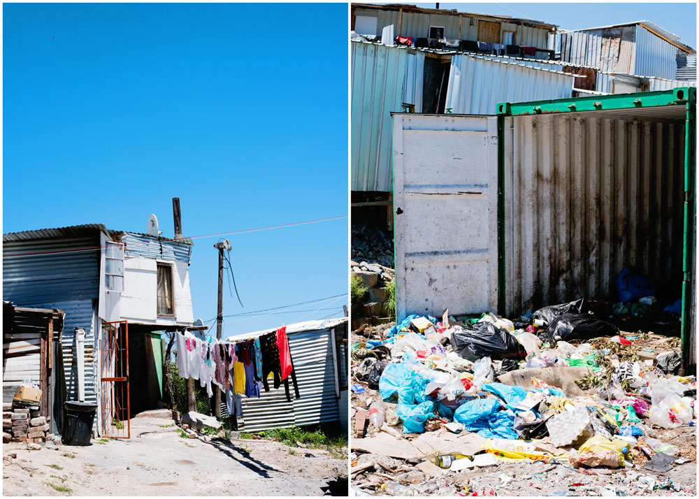 History & Tours of Cape Town South Africa Slums & Townships