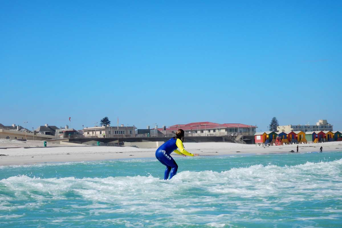 Gary's Surfing Lessons Muizenberg Beach, Cape Town, South Africa
