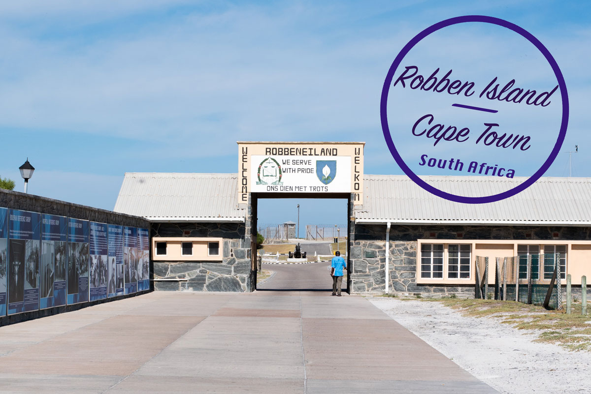World Heritage Site Cape Town South Africa - Robben Island
