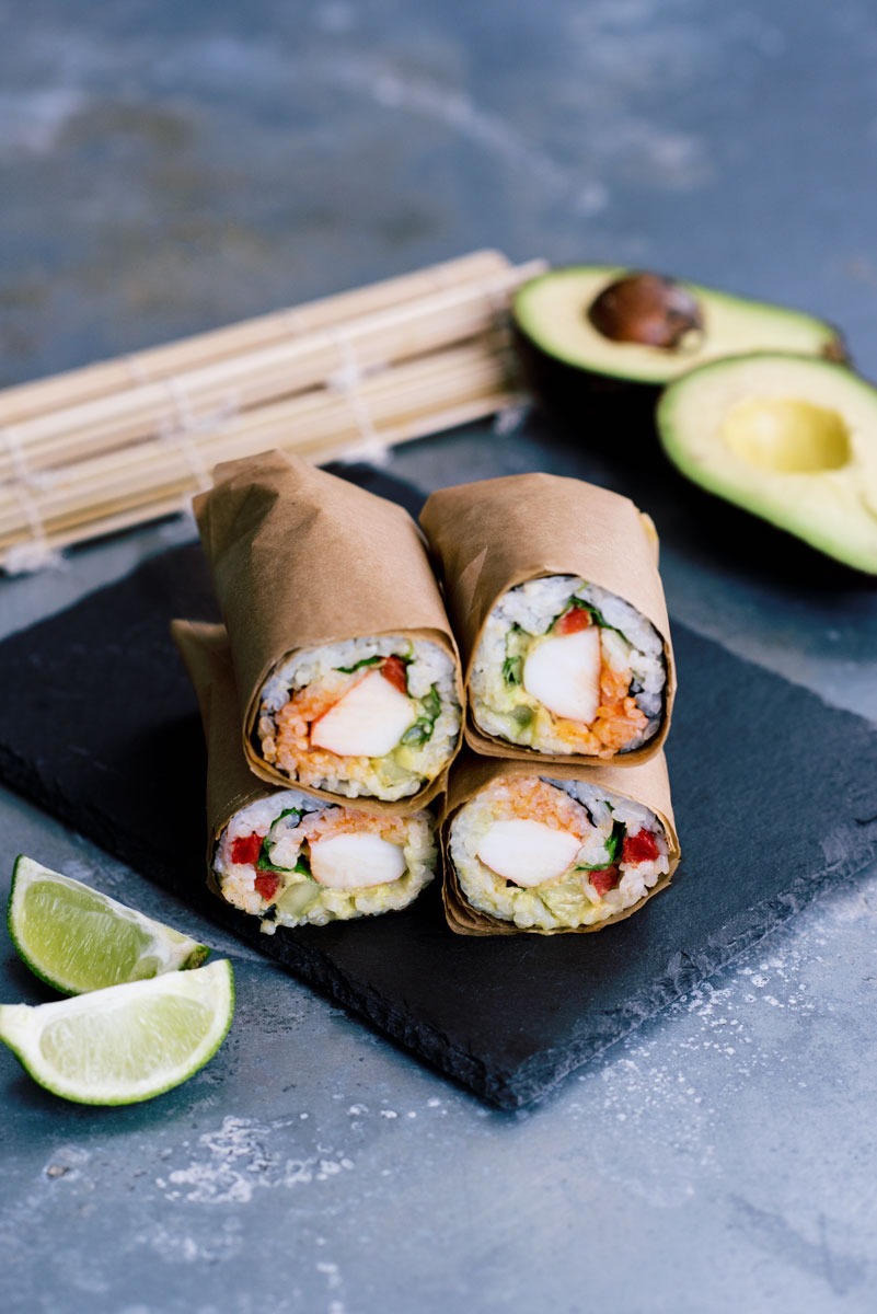Life Goals :: How to Make a Sushi Burrito Recipe & Video Tutorial