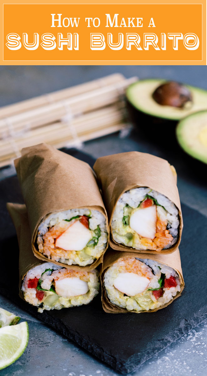 How to Make a Sushirrito Sushi Burrito Copycat Recipe