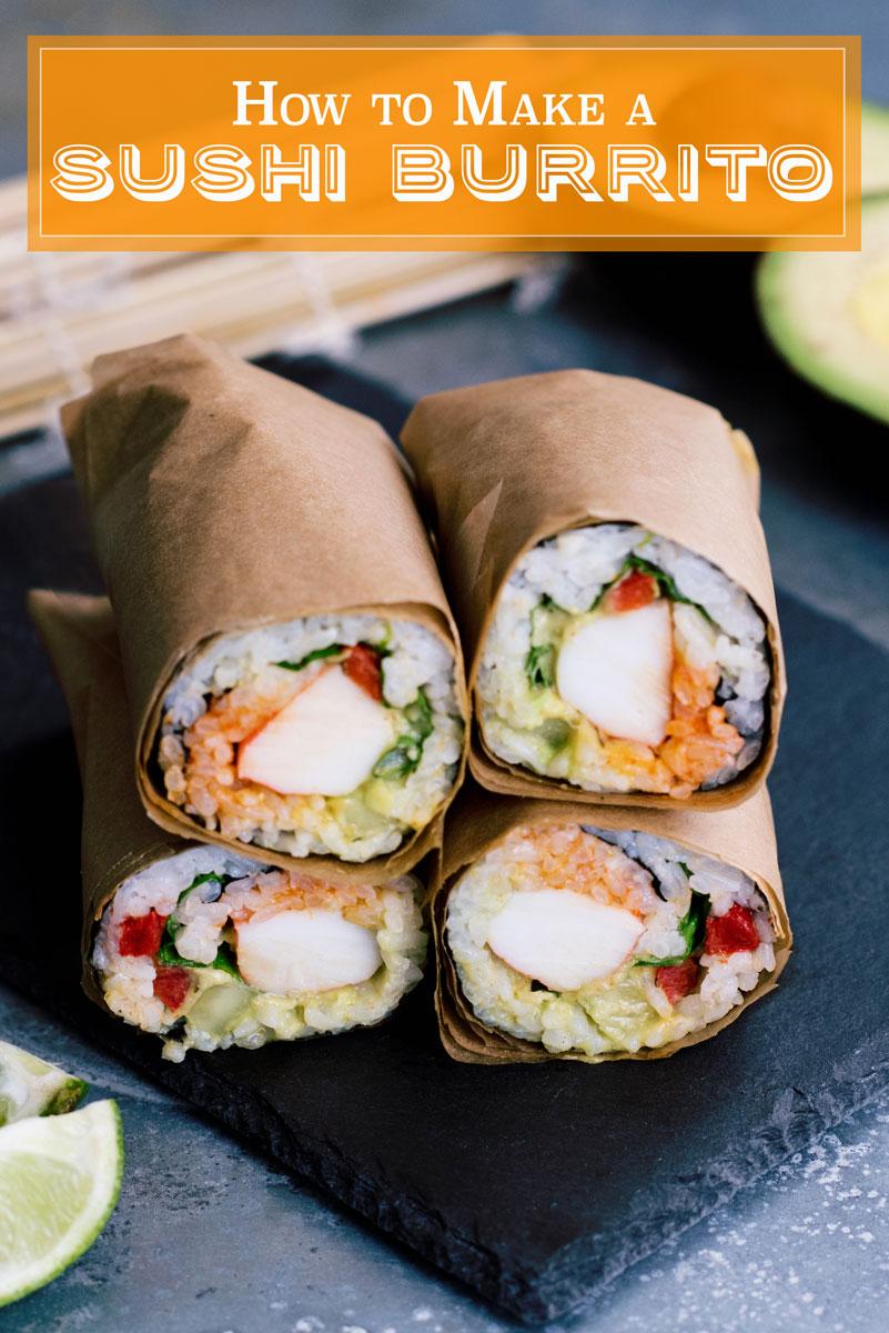 How to Make a Sushirrito Sushi Burrito Copycat Recipe